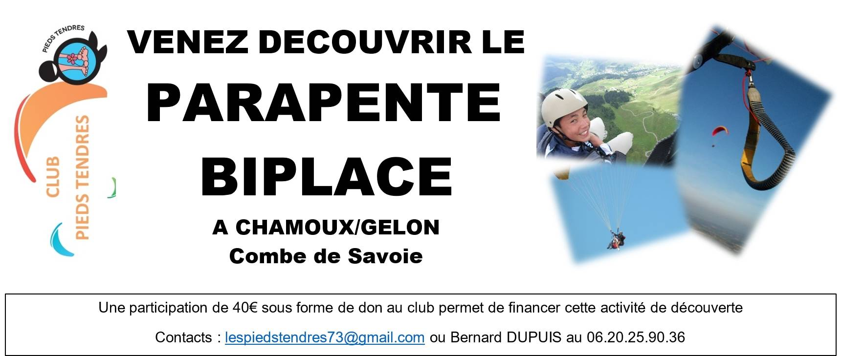 Decouverte biplace